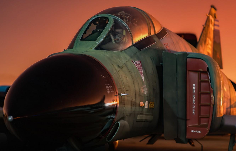 Фото обои авиация, армия, самолёт, F-4C Phantom