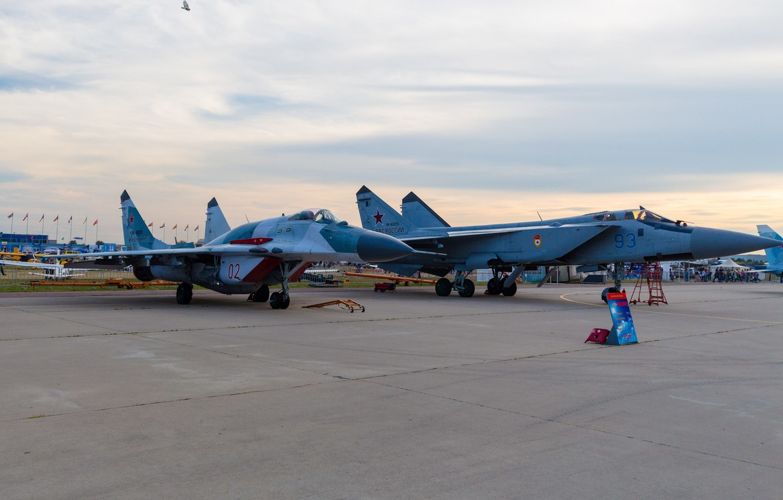 Обои миг-31, ввс, Микоян и гуревич, перехватчик, истребитель. Авиация foto 10