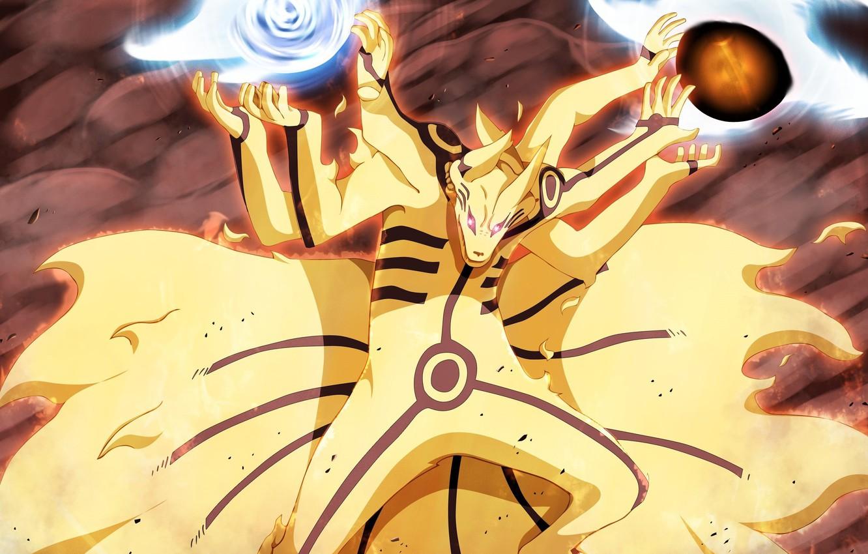 Фото обои battlefield, game, Naruto, fox, war, anime, fight, asian, manga, japanese, Naruto Shippuden, Kyuubi, Uzumaki Naruto, …