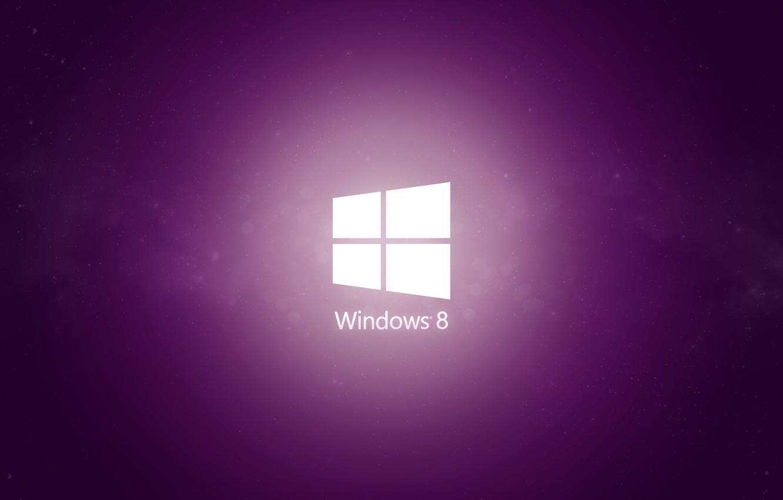 Фото обои minimal, windows, purple, 8.1