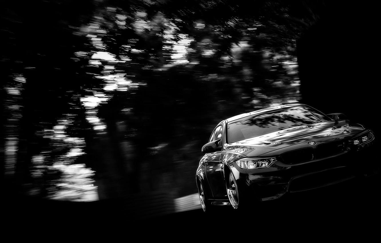 Фото обои размытие, BMW