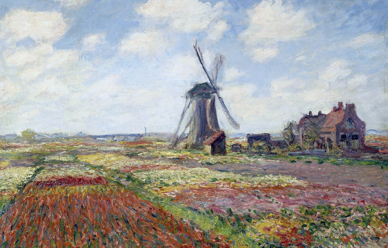 Обои Клод Моне, Пейзаж, картина. Разное foto 10