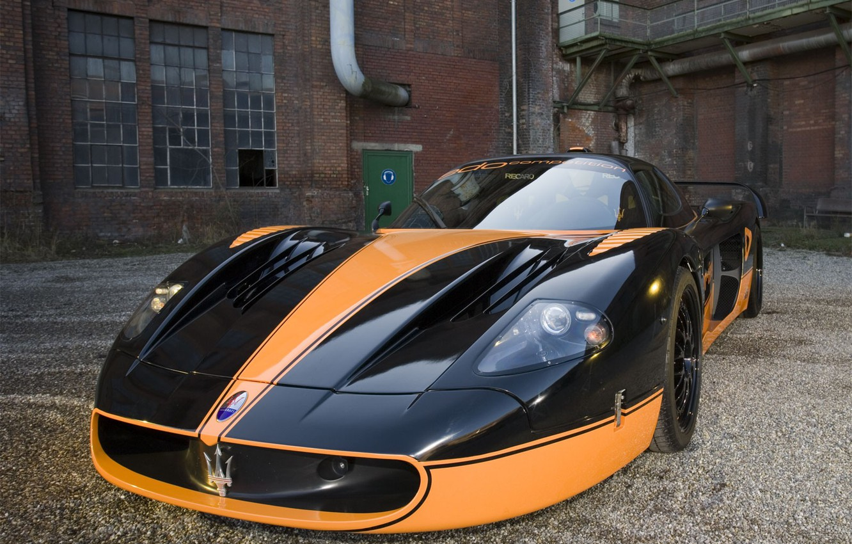 Фото обои машина, авто, Maserati, мазератти