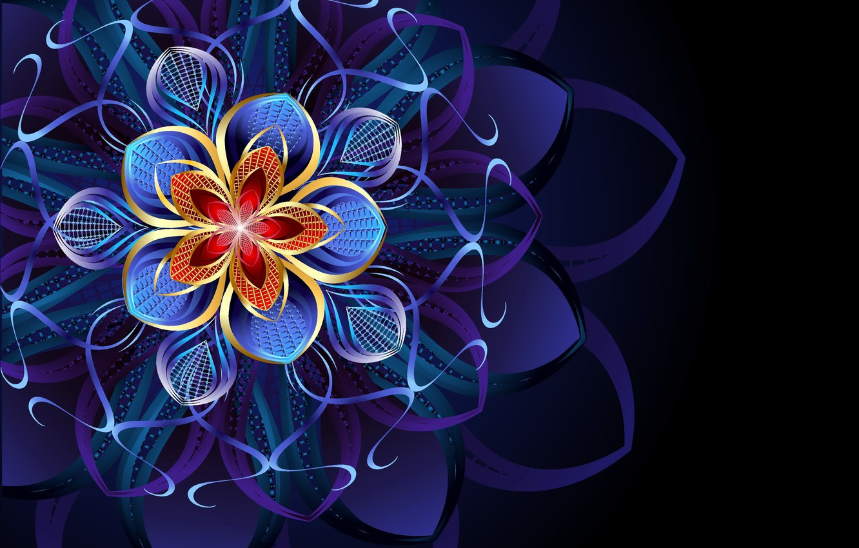 Обои цветок, абстракция. Абстракции foto 6