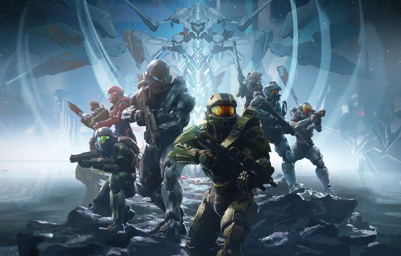 Фото обои Microsoft, Halo, 343 Industries, Halo 5: Guardians