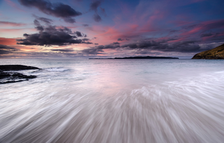 Фото обои море, небо, облака, закат, тучи, берег, вечер, Япония, Japan, sky, sea, coast, sunset, clouds, evening