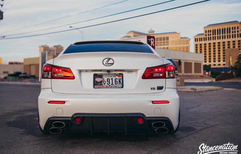 Фото обои Lexus, IS-F, Stance, StanceNation