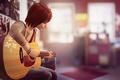 Картинка Max Caulfield, гитара, Макс Колфилд, Life is Strange