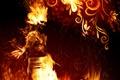 Картинка Огонь, узор, пламя