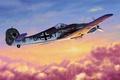 Картинка ww2, focke wulf, second world war, german fighter, art, fw 190, german aircraft, war