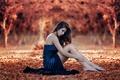 Картинка Alessandro Di Cicco, ножки, осень, Sweet Autumn, девушка
