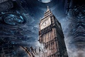Картинка parliament, Independence Day: Resurgence, Independence Day 2, tower, mothership, war between worlds, Tower of London, ...