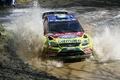 Картинка 2010, focus, water, wrc, ford, rally