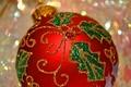 Картинка игрушка, рождество, новый год, шар, украшение