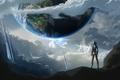 Картинка Земля, Sci-fi, будущее, арт, фантастика, планета
