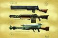 Картинка оружие, винтовка, Fallout, лазерная, пулемет