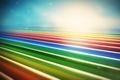 Картинка abstraction, lacza, разноцветные, рендер, линии, lines