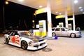 Картинка Nissan, s13, jdm, mercedes, заправка