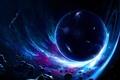 Картинка космос, метеориты, Интерстеллар, interstellar, Christopher Nolan, Межзвёздный, нолан, wormhole