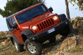 Картинка Jeep, wrangler, rubicon, джип, ренглер, рубикон, красный, передок