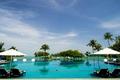 Картинка пальмы, Longkawi, Малайзия, курорт, море, тропики, небо, бассейн, шезлонги