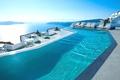 Картинка море, Санторини, Греция, бассейн, отель