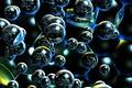 Картинка отражение, текстура, пузырьки