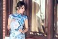 Картинка стиль, взгляд, платье, азиатка