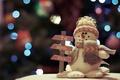 Картинка снеговик, игрушка, праздник