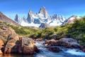 Картинка Фицрой, небо, горы