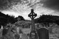 Картинка готика, мрак, могилы, кладбище