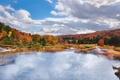 Картинка осень, лес, пейзаж, природа, водоём
