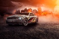 Картинка Car, Muscle, Perfomance, Fire, Comp, Front, Turbo, Mustang, Ford