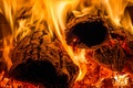 Картинка пламя, жар, дрова, огонь