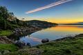 Картинка небо, рассвет, утро, Норвегия, Norway, Rogaland, Lindøy