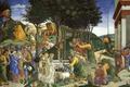 Картинка мифология, Сандро Боттичелли, Сцены из Жизни Моисея, картина