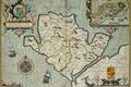 Картинка море, герб, Anglesey, остров, план, роза ветров, карта