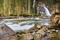 Картинка водопад, Michael Breitung, Австрия, лес