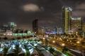 Картинка мегаполис, дорога, Night, Сан-Диего, ночь, фонари, Калифорния, USA, США