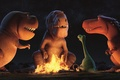 Картинка vegetation, spark, fang, konoha, 2016, sky, film, cinema, bonfire, carnivorous, The Good Dinosaur, dinossaur, repyile, ...