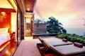 Картинка интерьер, терраса, бассейн, вилла