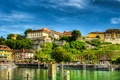 Картинка причалы, дома, Германия, берег, деревья, озеро, Meersburg, HDR, Lake Constance