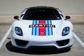 Картинка View, Porsche, Front, Martini, Spyder, 918