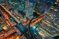 Картинка жизнь, город, огни, вечер, Таиланд, Бангкок, столица, ночная