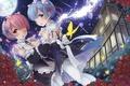 Картинка цветы, девочки, Re: Zero kara Hajimeru Isekai Seikatsu, аниме, арт