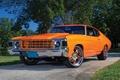 Картинка chevy chevelle, wallpaper, orange