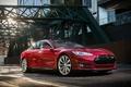 Картинка 2014, Tesla, Model S, industrial