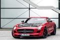 Картинка red, Mercedes-Benz, лестница, C197, Final Edition, SLS, AMG
