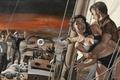 Картинка рисунок, hollywood, иллюстрация, painting, story illustration, illustration, April 1959, pulp covers, A Madman Has Taken ...