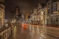 Картинка Гент, St Michaels Bridge, Бельгия, Мост Святого Михаила